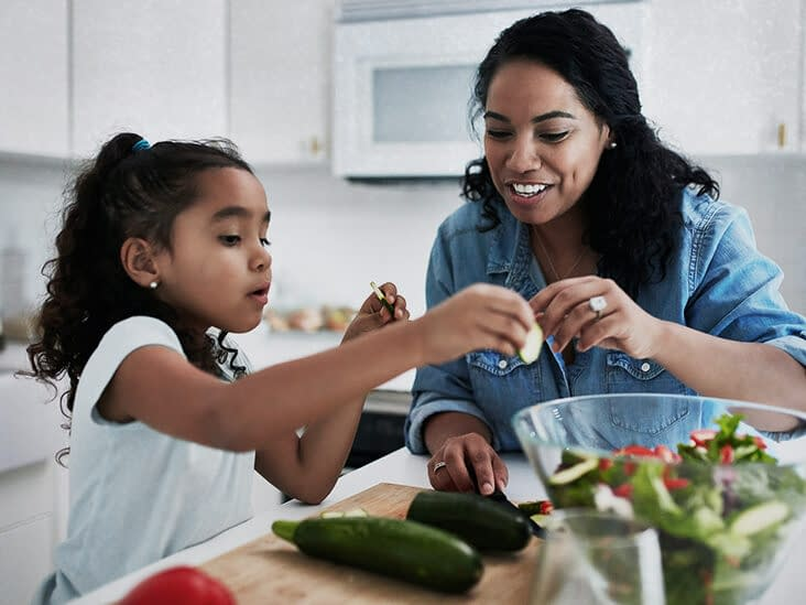 Eating fruit and veg associated with children's mental well-being
